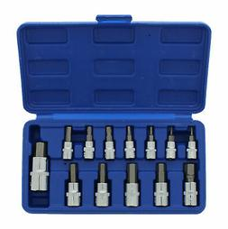 ABN 13 Piece Metric Hex Bit S2 Steel Socket Tool Kit Socket
