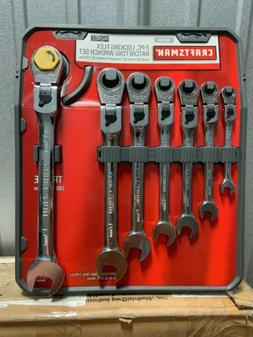 Craftsman 7 Piece Metric Locking Flex Ratcheting Combination
