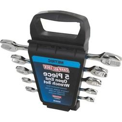 metric open end wrench set 5 piece