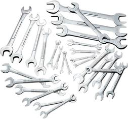 Craftsman 9-42955 Standard and Metric Open End Wrench Set, 2