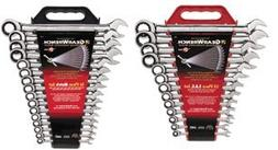 16 Pc Metric Ratcheting Wrench Set