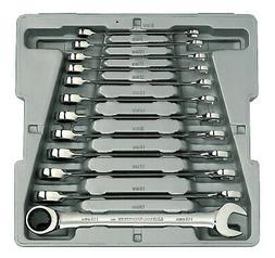 12 Piece Metric Ratcheting Wrench Set