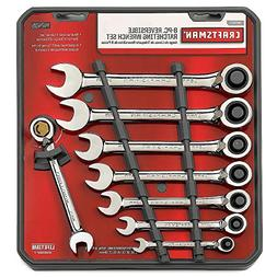 Craftsman 8 pc. Metric Reversible Ratcheting Combination Wre