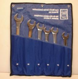 Power Fist 6 Piece Metric  Wrench Set 24mm to 36mm 8659229