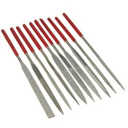 10pcs Diamond Needle File Rasp Set For Jewelery Glass Jade