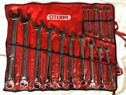new 15 piece open end wrench set