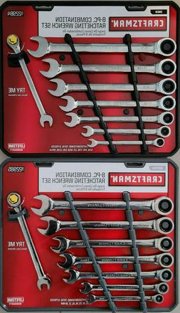 NEW CRAFTSMAN 16 pc Ratcheting Combination MM/SAE Wrench Set