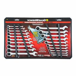 NEW GearWrench 20 pc piece Ratcheting Combination Wrench Set