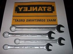 NEW 4 PC METRIC MM STANLEY WRENCH SET MECHANIC WRENCHES LOT