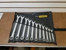 """NEW"" Stanley 85-450 11 Piece Combination Wrench Set SAE"