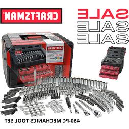 New Craftsman 450 Piece Mechanic's Tool Set With 3 Drawer Ca