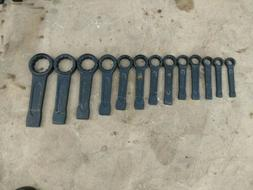 NEW Set of Metric 22 mm to 60 mm Boxed End Slugging Striking