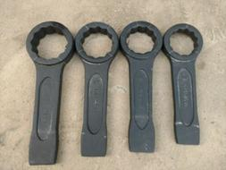 NEW Set of Metric 65 mm to 80 mm Boxed End Slugging Striking