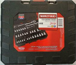 NEW Craftsman Socket Wrench Set,  42 PC DRIVE BIT and TORX 9