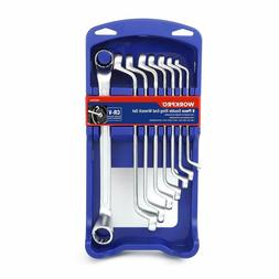offset box end wrench set 8 pc