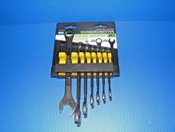 Pittsburgh 7 Piece Metric Universal Combination Wrench Set *