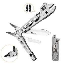 All-Purpose 10-in-1 Function Multi-tool with Belt Clip   Adj