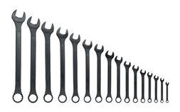 Raised Panel Combo Wrench Standard Black Oxide Corrosion Res