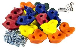 kids Rock Climbing Wall Holds Screw Assorted 20 Pack with In