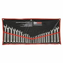 SAE Metric Combination Wrench Set 24 Piece Wrenches Kit Hand
