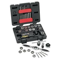 GearWrench 329-3885 40Pc Sae Tap & Die Set
