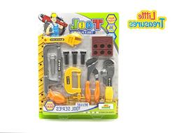 Little Treasures Tool Series from Complete with Vice, Clamp,