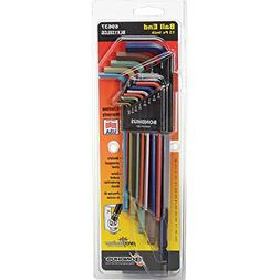 Set 13 ColorGuard Ball End L-Wrenches - Extra Long Arm , Lot