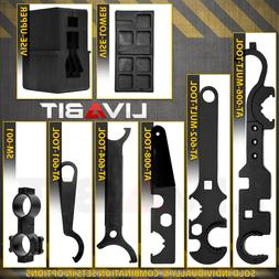 LIVABIT SETS Armorer Wrench Tool Free Float Upper Lower Vise
