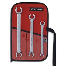 Stanley Proto J3760T 3-piece Double End Flare Nut Wrench Set