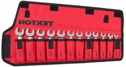 12-pc.Stubby Ratcheting Combination Wrench Set Roll-up Stora
