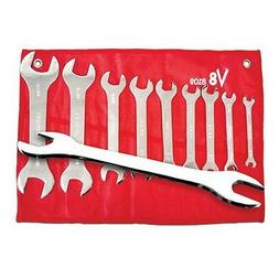 V-8 Tools V8T8109 Wrench Set Super Thin 18 Sizes