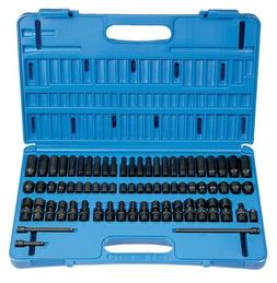 "Grey Pneumatic 9771 1/4"" Surface Drive 71 Piece Complete Set"