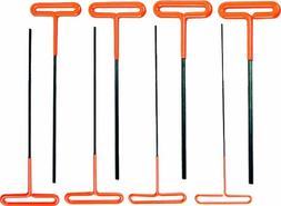AMPRO T22860  T Bar Hex Key Set, 8-Piece