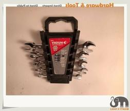 Husky Taiwan #45503 5pc Metric Double Open End Spanner Wrenc