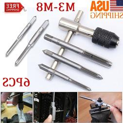 TAP WRENCH & CHUCK SET METRIC M3 M4 M5 M6 M8 and die - 6 Pie