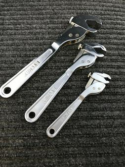 The Ratchet Action Wrench 3Pcs. Set