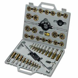 Neiko 45-Piece Titanium Tap and Die Set - SAE