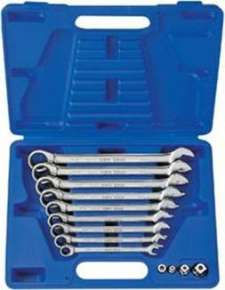 KING TONY 13 Pc. Metric Combination Speed Wrench Set KTA1310