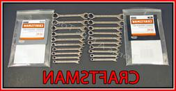CRAFTSMAN TOOLS 20pc Full Polish IGNITION SAE & METRIC MM Wr