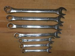 SK Tools, 9 Piece, SAE, 12 Point, Combination Wrench Set-11/