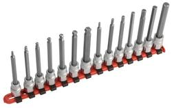 Sunex Tools 9921 14-Piece 3/8 in. Drive Metric Long Ball Hex