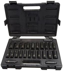 Blackhawk By Proto U-1627CDS 6-Point Deep Impact Socket Set