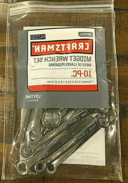 Craftsman USA Micro Midget Ignition Wrench Set Metric 42339