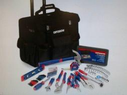 WORKPRO W009029A 176 -Pieces Tool Set With Tool Trolley Bag,