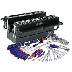 WORKPRO W009038A 183-Piece Tool Set w/5 Compartment Cantilev