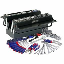WORKPRO W009038A 183-Piece Tool Set w/ 5 Compartment Cantile