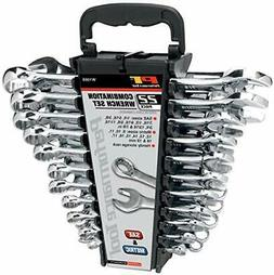 Performance Tool W1099 22-Piece SAE and Metric Wrench Set |