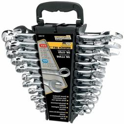 Performance Tool W1099 22-Piece SAE and Metric Wrench Set Or