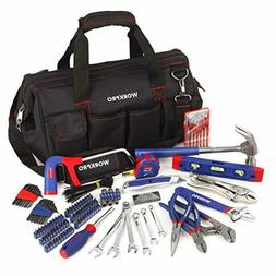 WORKPRO 156 Piece Home Repair Tool Set Daily Use Hand Tool K