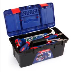 WORKPRO 170PC Household Tool Set Home Tools Plastic Tool Box